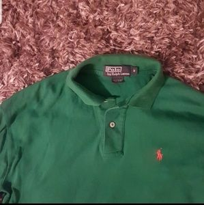 🔥🔥Like-New Men polo raph shirt green